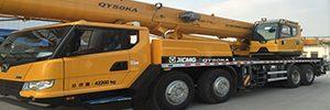 crane heavy machinery