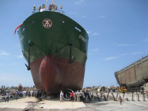 MAX Turkey 2007 Shiplaunch