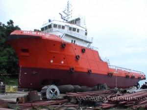 Penang shiplaunch max airbags