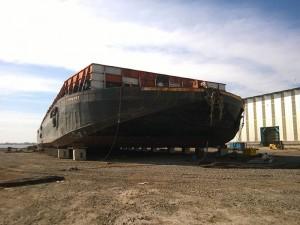 barge launching