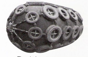 tire-chain net fender