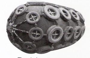 tire-chain net fender