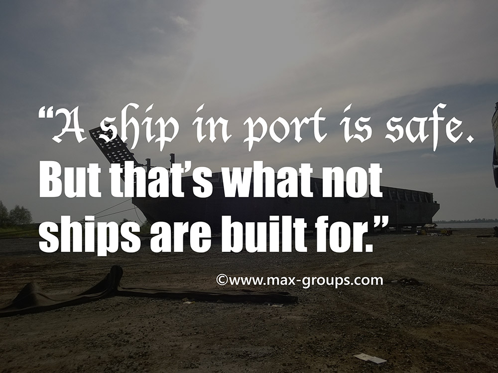 ship in port quote
