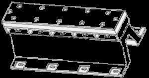MAXDA-B type arch fender