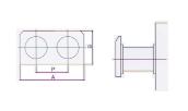 two cells per panel horizontal