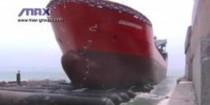 Руководство по спуск кораблей на воду, судоремонту и ликвидации аварий с использованием пневматических ролик-мешков